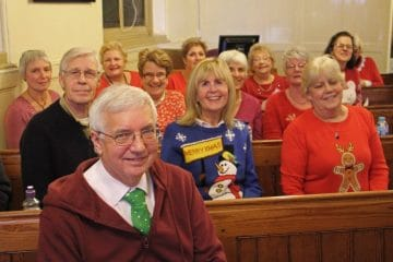 The Gift - Some of the choir.........