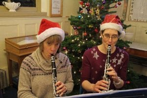 The Gift - Two clarinetists and two Katherins!
