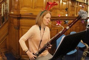 The Gift - Alison plays her bassoon.
